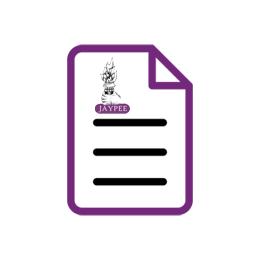 JaypeeDigital | Journal of South Asian Federation of